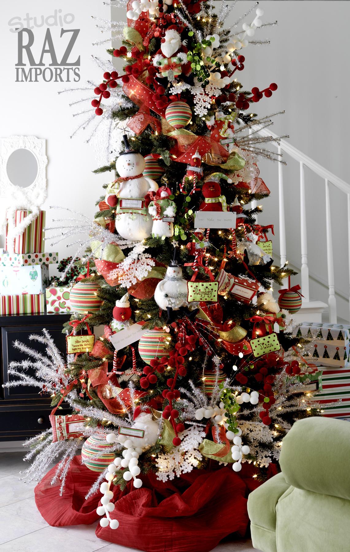Árbol de Navidad: 60 ideas Preciosas para Decorar