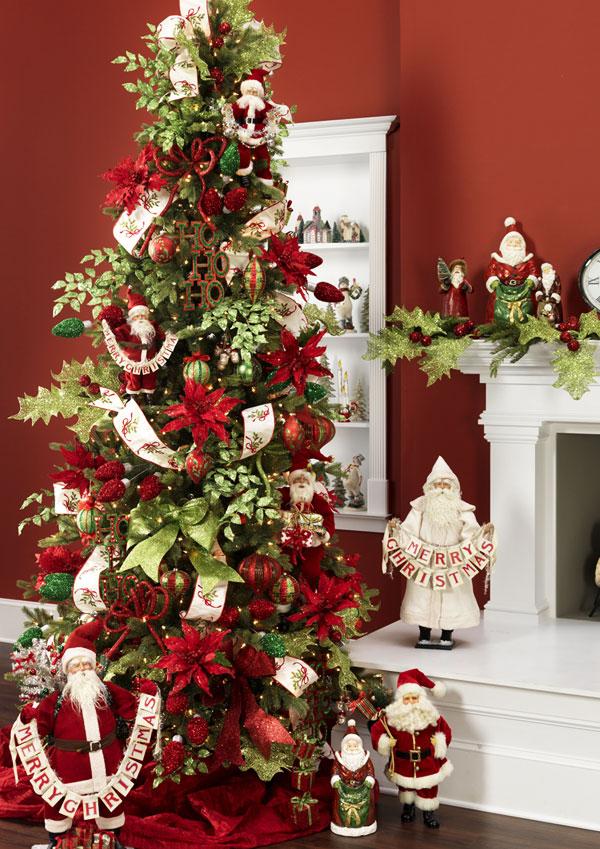Arbol de navidad 60 ideas preciosas para decorar 89 - Adornos de navidad para decorar la casa ...