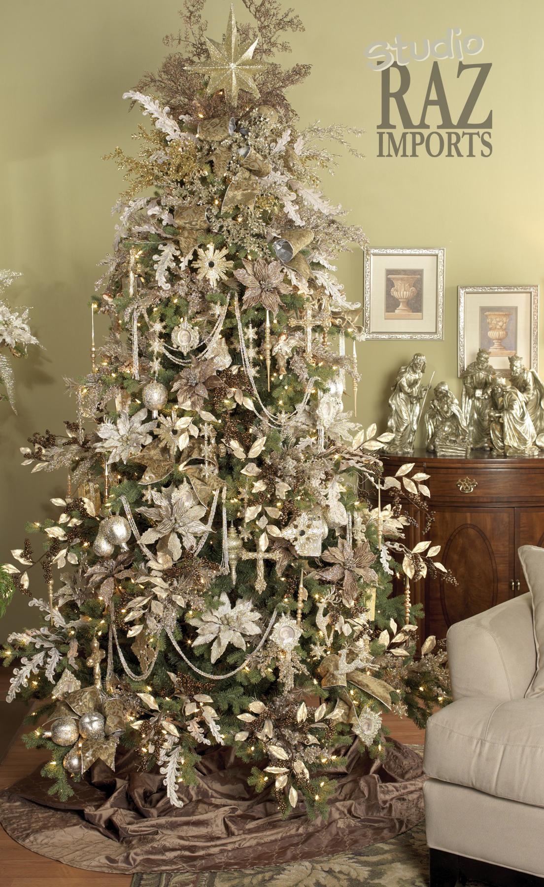 Decorar el rbol de navidad decoracion de interiores - Arbol navidad casa ...