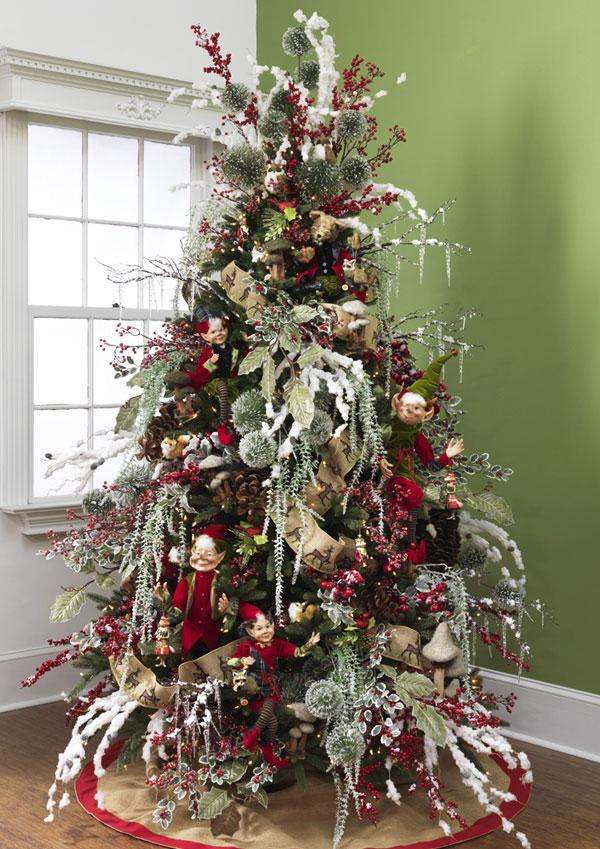 Arbol de Navidad 60 ideas Preciosas para Decorar (95)