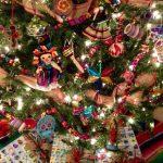 Árbol de Navidad con Lotería Mexicana