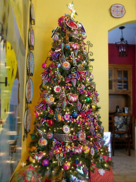 Árbol de Navidad con Sombreros de Charro (2)