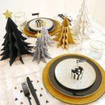 Centro de Mesa para Navidad con Papel (2)