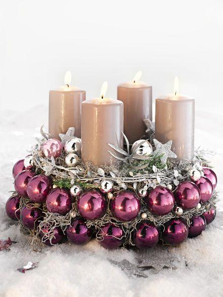 Centros de mesa para navidad decoracion de interiores for Centros de mesa para casa
