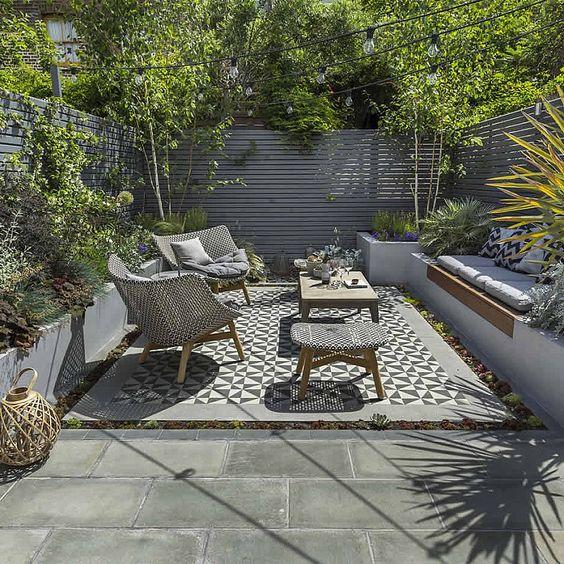Dise o de jardines para casas decoracion de interiores for Como disenar un jardin pequeno