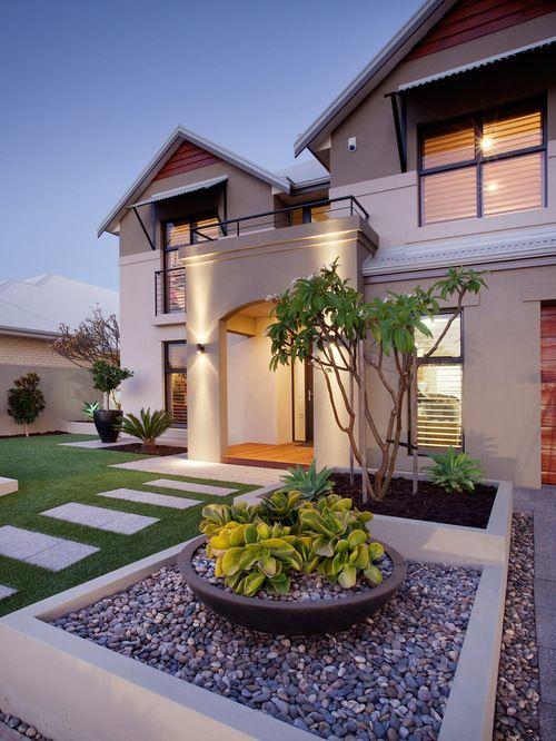 Dise o de jardines para casas decoracion de interiores for Diseno de jardines para casas