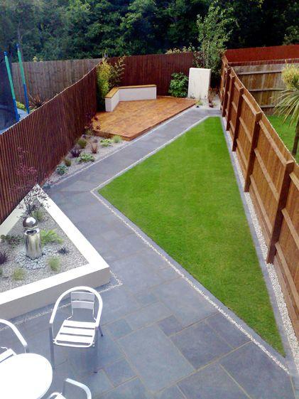 Dise o de jardines para casas conoce las tendencias 2018 - Como arreglar un jardin pequeno ...