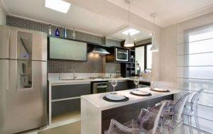 Como decorar la barra desayunadora de la cocina (3)