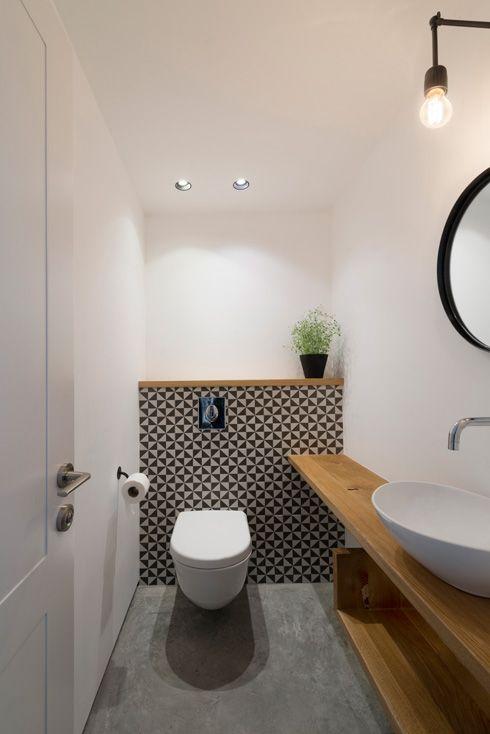 Tendencias en decoracion de interiores de casas peque as for Small wc ideas