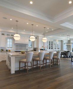Como decorar una cocina grande (4)