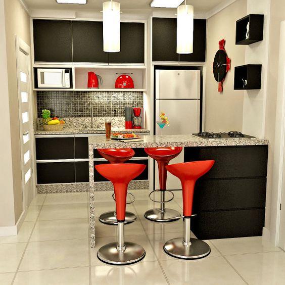 Como decorar una cocina pequeña (5)
