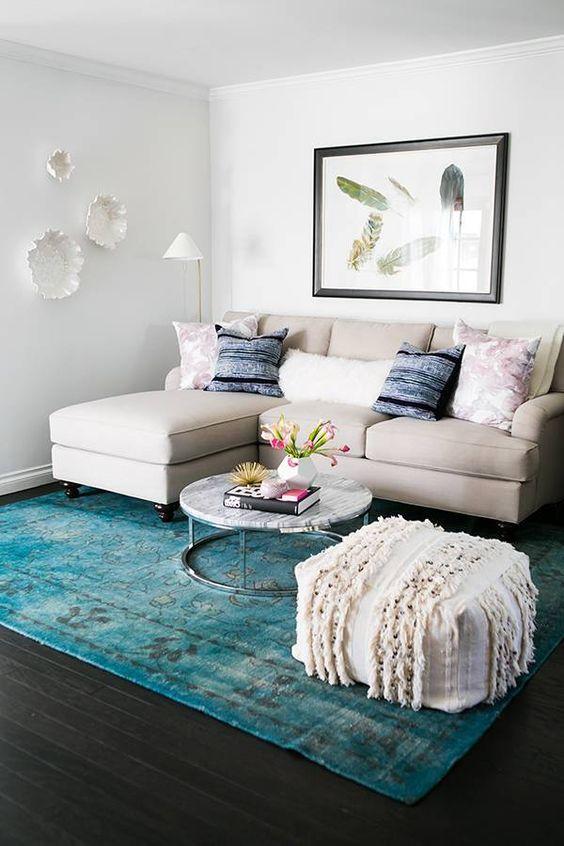 ¿Como decorar una sala pequeña y moderna?