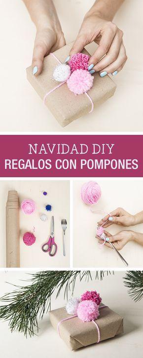 Como envolver regalos esta navidad Ideas DIY y fotos (2)