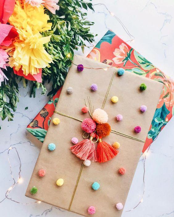 Cmo envolver regalos esta navidad Ideas DIY 2018 2019