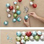 Como hacer manualidades faciles navideñas (2)