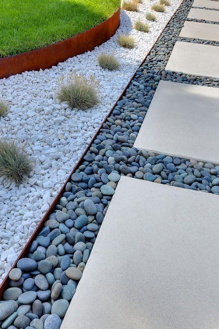 Como hacer un jardín pequeño con piedras