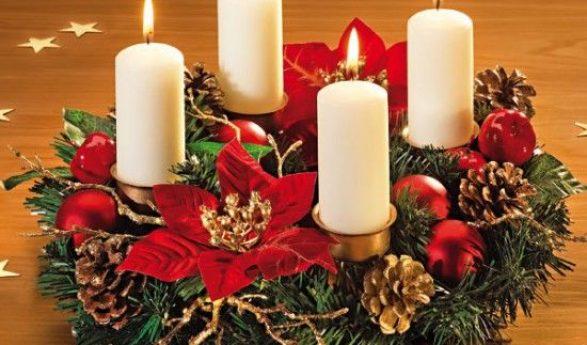 Ideas para decorar y organizar tu hogar - Como decorar la corona de adviento ...