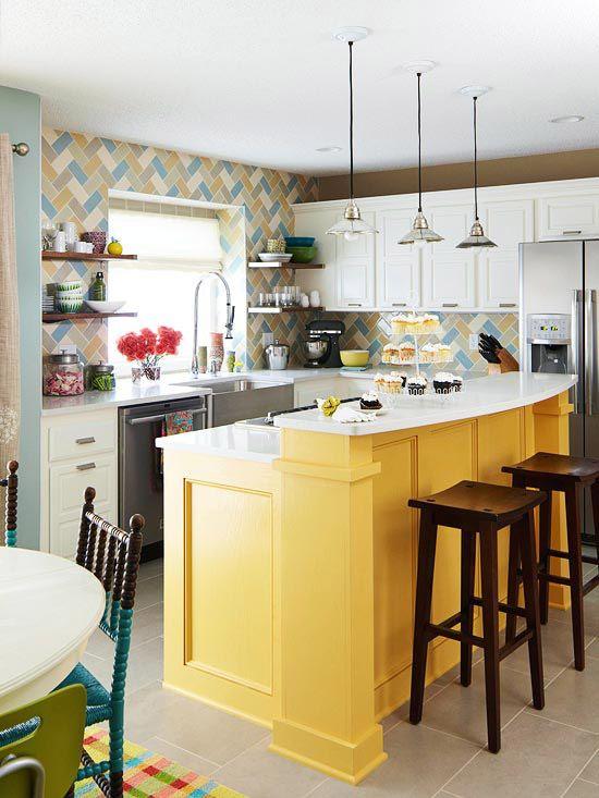 Decoracion de cocinas color amarillo (3)