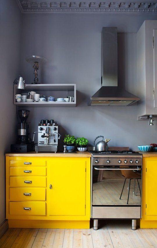 Decoracion de cocinas color amarillo (4)
