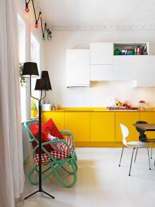 Decoracion de cocinas color amarillo (5)