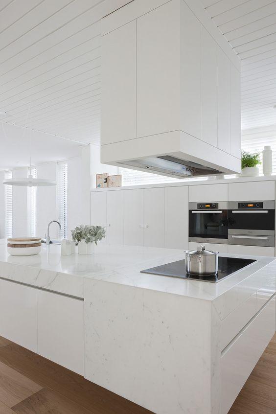 Decoracion de cocinas color blanco (1)