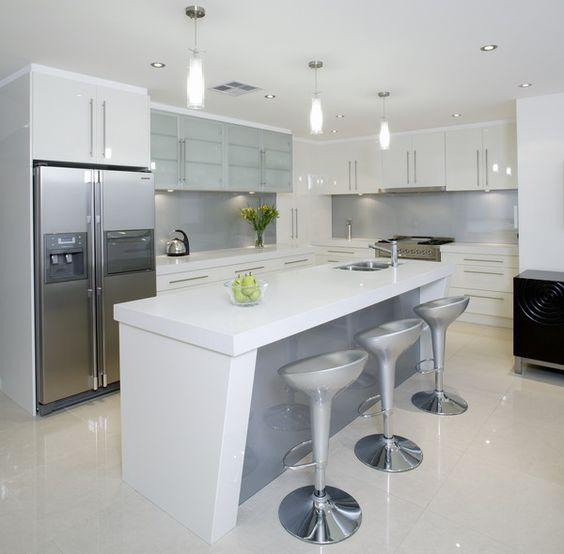 Decoracion de cocinas color blanco (3)