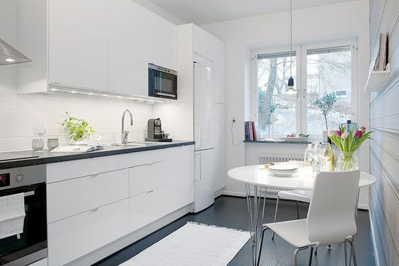 Decoracion de cocinas color blanco 5 decoracion de interiores fachadas para casas como - Cocinas de color blanco ...