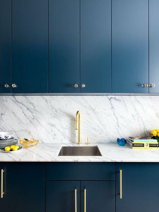 Decoracion de cocinas en color azul (1)