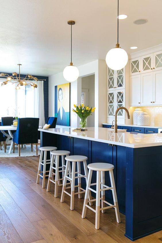 Decoracion de cocinas en color azul (2)