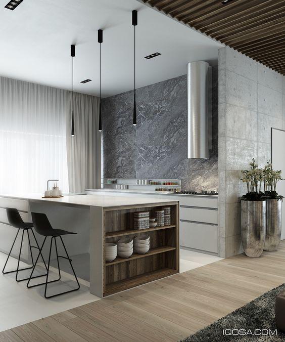 Decoracion de cocinas en color gris (2)