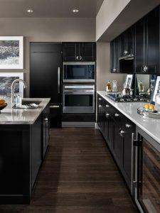 Decoracion de cocinas en color negro (1)