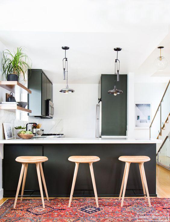 Decoracion de cocinas en color negro (4)