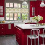 Decoracion de cocinas en color rojo (1)