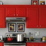 Decoracion de cocinas en color rojo (4)