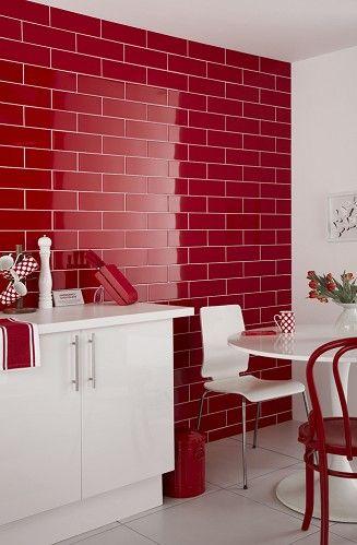 Decoracion de cocinas en color rojo (5)