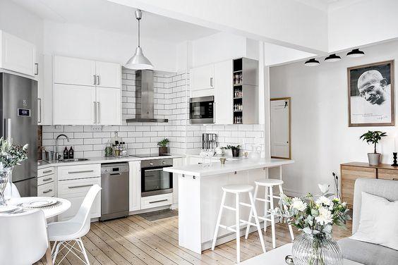 Decoracion de cocinas estilo nordico (2)
