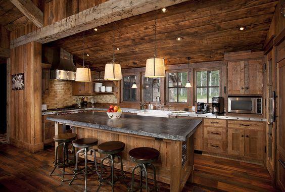 Decoracion de cocinas estilo rustico (3)