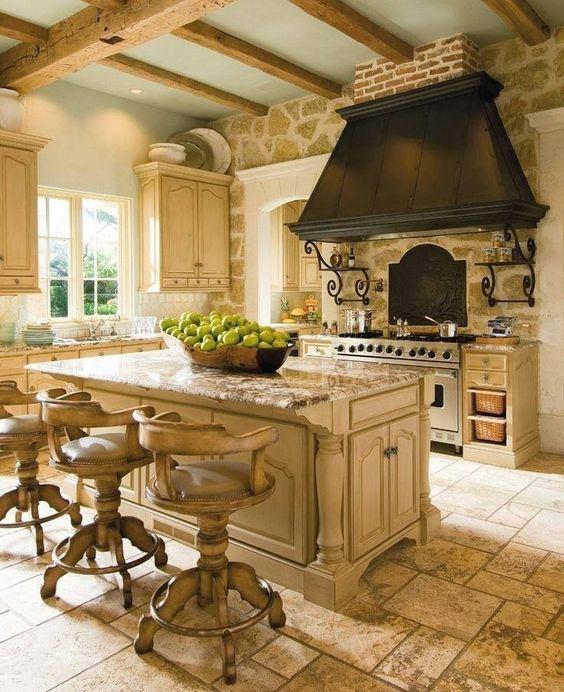 Decoracion de cocinas estilo rustico 4 decoracion de - Cocinas estilo ingles decoracion ...