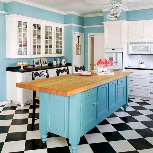 Decoracion de cocinas estilo vintage (2)