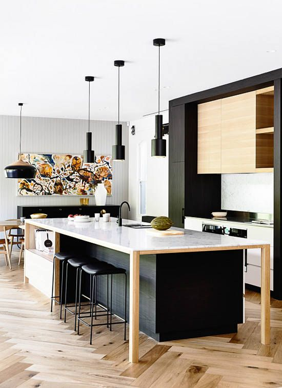 Decoracion de cocinas modernas 2018 160 fotos e ideas 5 - Ideas de cocinas modernas ...