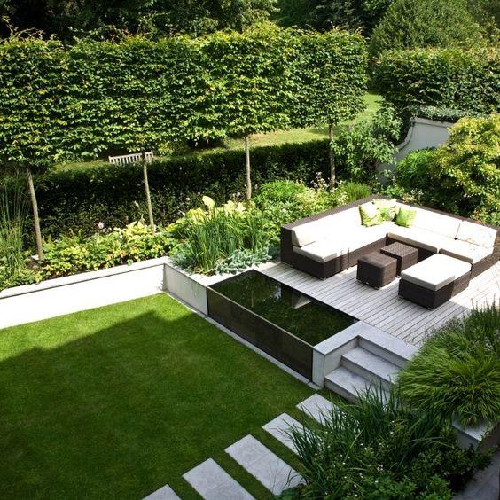 Dise o de jardines para casas conoce las tendencias 2019 - Diseno de jardines modernos ...
