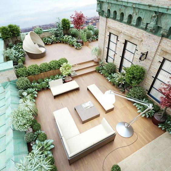 Decoracion jardines modernos cheap ideas para decorar for Decoracion de jardines modernos