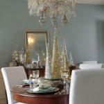 Decoracion de navidad plata con dorado (10)