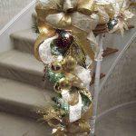 Decoracion de navidad plata con dorado (12)