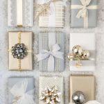 Decoracion de navidad plata con dorado (14)