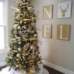 Decoracion de navidad plata con dorado (17)