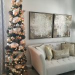 Decoracion de navidad plata con dorado (18)
