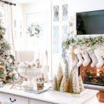 Decoracion de navidad plata con dorado (26)
