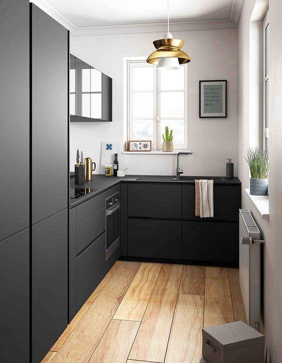 Tendencias en decoracion de interiores de casas peque as for Cocinas super pequenas