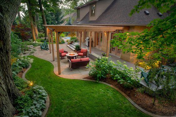 Dise o de jardines para casas conoce las tendencias 2018 for Jardines exteriores de casas de campo